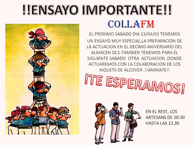 CARTEL INFORMATIVO ENSAYO COLLAFM