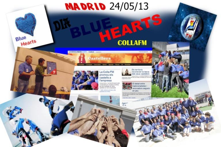 DIA!!  BLUE HEARTS