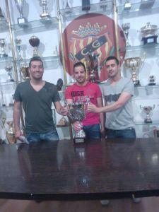 de izquierda a derecha: Francis, Jordi y Jose