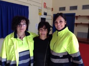 Aurora, Odunia y Núria en plenas negociaciones ;)