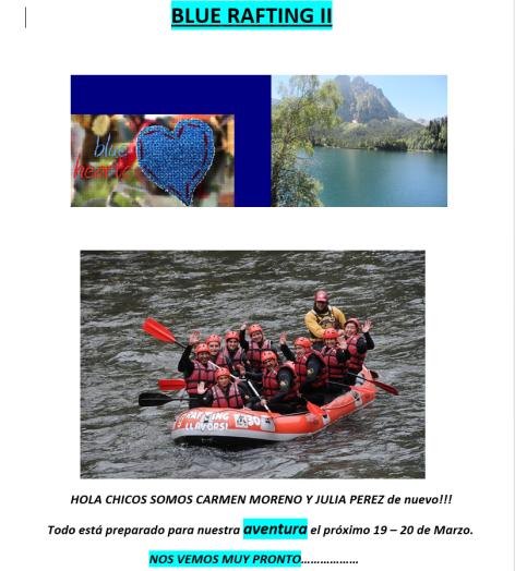 Blue rafting II
